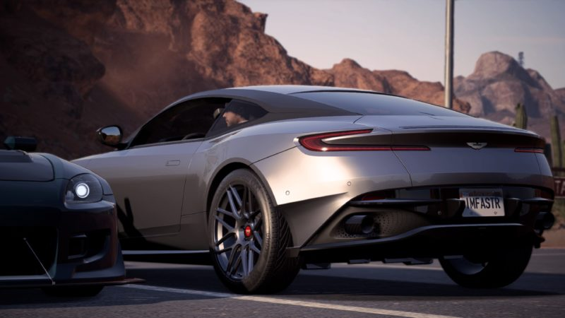 Test Need for Speed Payback - aston martin