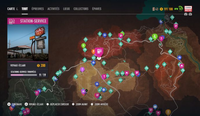 Test Need for Speed Payback - Carte Fortune Valley