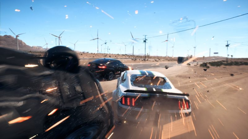 Test Need for Speed Payback - accident à pleine vitesse