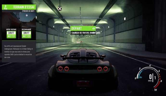 Test Need for Speed Payback - Lotus Elise