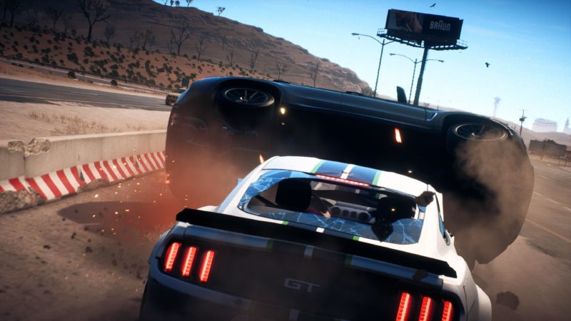 Test Need for Speed Payback - Mustang