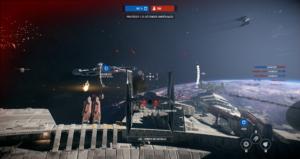 Star Wars: Battlefront II - bataille galactique