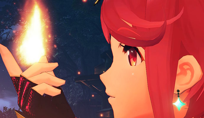 Test Xenoblade Chronicles 2 - Pyra