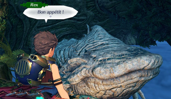 Test Xenoblade Chronicles 2 - Rex et un Titan