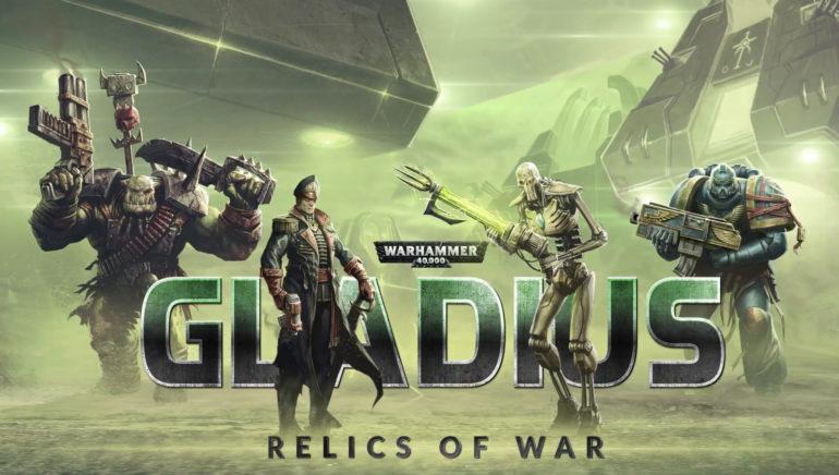 Warhammer 40,000: Gladius - Relics of War bannière