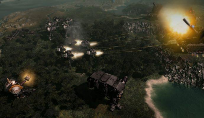 Warhammer 40,000: Gladius - Relics of War pan tatatatata ! boum !