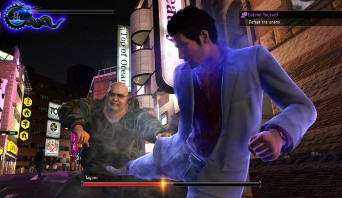 Yakuza 6 : The Song of Lifecombat