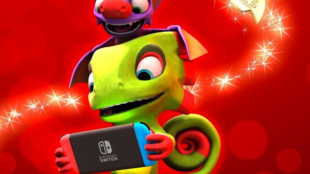 Yooka-Laylee sur Nintendo Switch