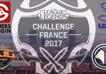 Demi-finale challenge France 2017 League of Legends