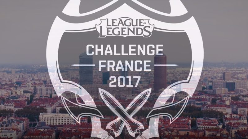 Challenge France League of Legends 2017