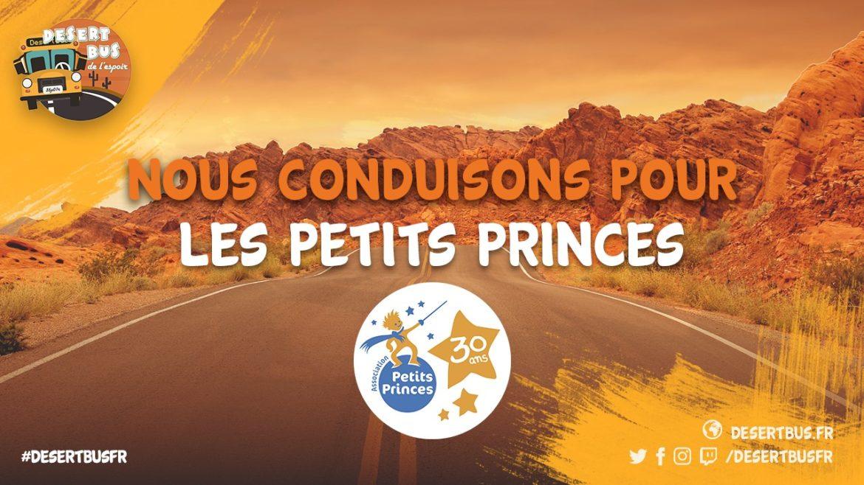 Desert Bus de L'Espoir-petits princes