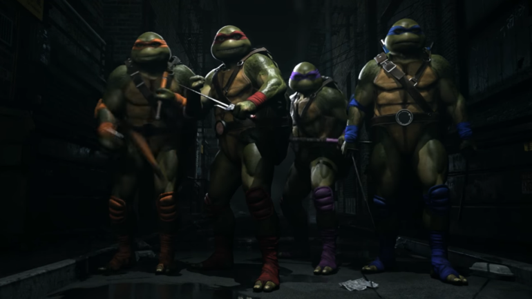 Injustice 2 tortue ninja
