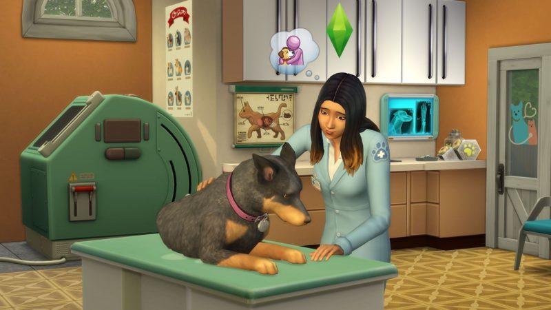 Les Sims 4 Chiens et Chats clinique