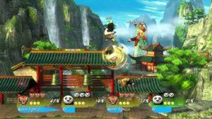 PlayStation Plus Kung Fu Panda : Le Choc des Légendes combat