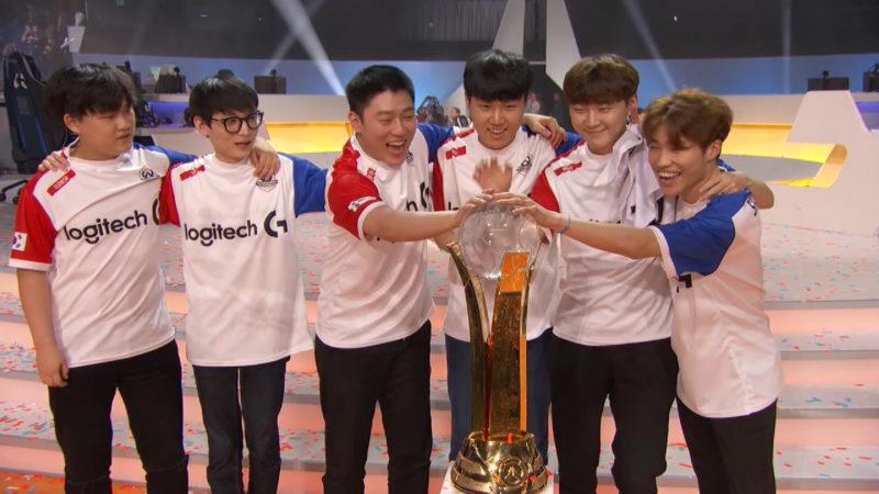 Corée du Sud Championne du monde Overwatch