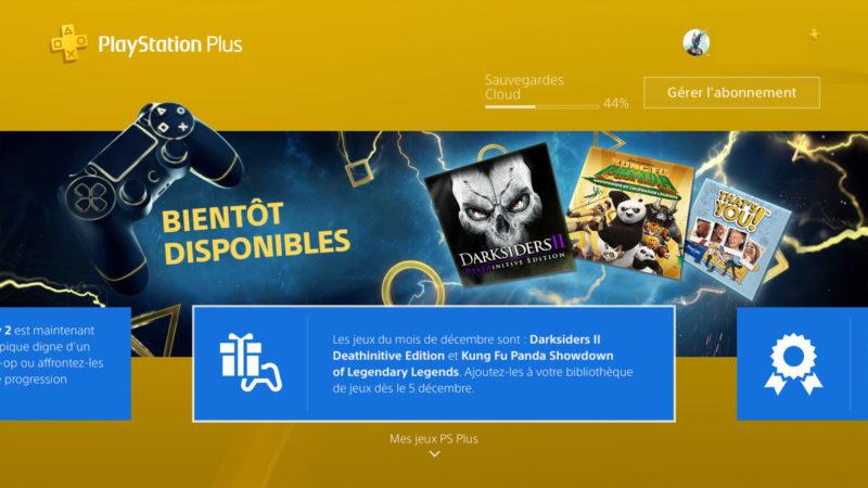 PlayStation Plus de décembre 2017