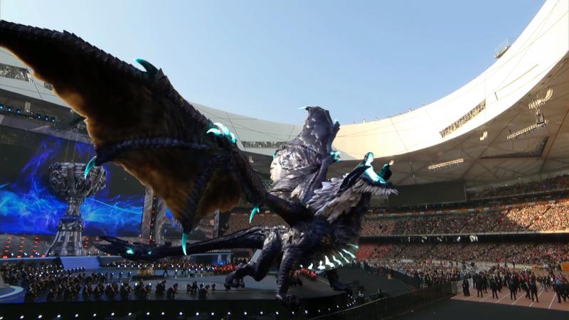 Coupe du monde League of Legends - stade