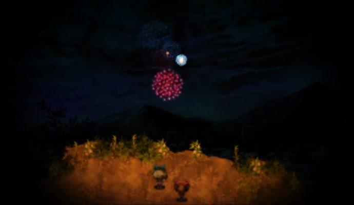 test Yomawari: midnight shadows - Feu d'artifice