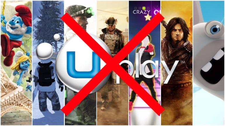 Ubisoft fin d'Uplay pour différents jeux