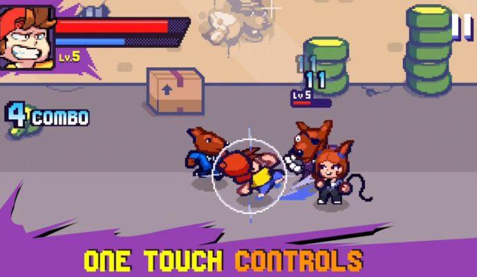 Beat Street combat