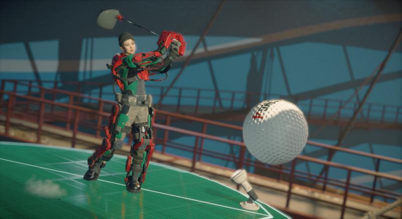 Dead Rising 4: Frank's Big Package Mini Golf
