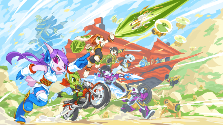 Freedom Planet 2 Hero Poster