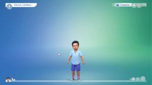 Les Sims 4 bambin
