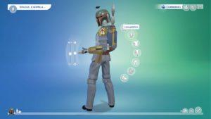Les Sims 4 boba fett