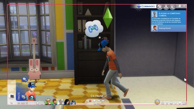 Les Sims 4 triste