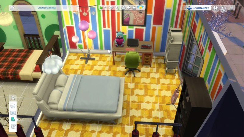 Les Sims 4 chambre