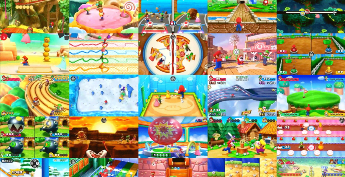 Mario Party : The Top 100 jeux
