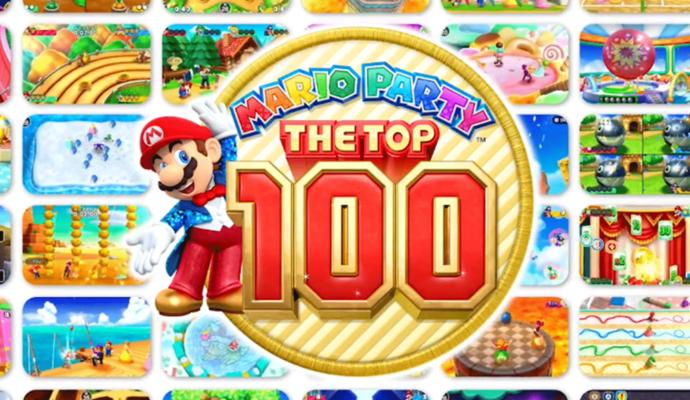 Mario Party: The Top 100 titre