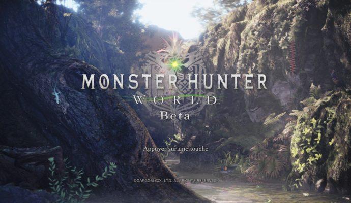 Monster Hunter World - Beta PlayStation 4