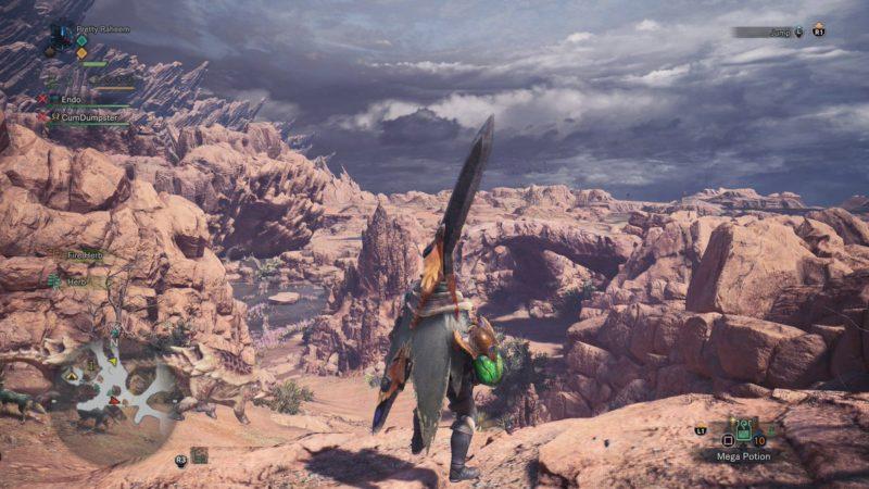Monster Hunter: World - Changement de temps dans le Désert des Thermites