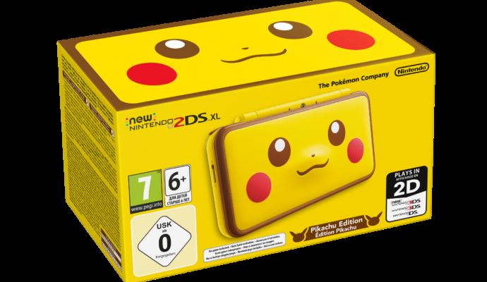 New Nintendo 2DS XL édition Pikachu