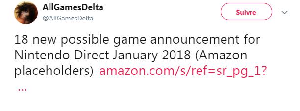 Switch AllGamesDelta tweet