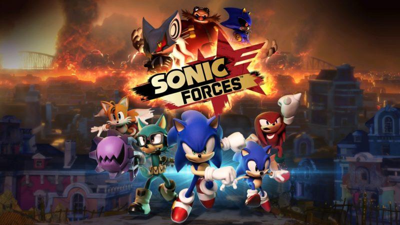 Sonic Forces - écran de présentation
