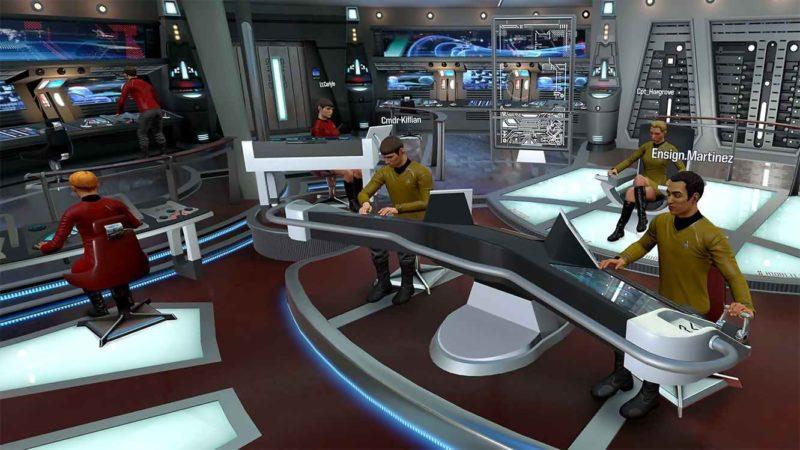 Star Trek: Bridge Crew équipage