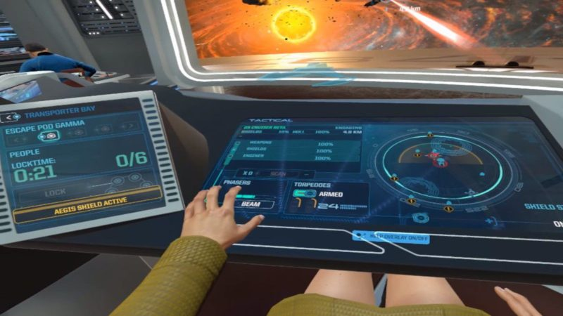 Star Trek: Bridge Crew pilotage