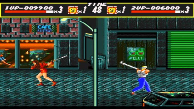 Streets of Rage Blaze Axel