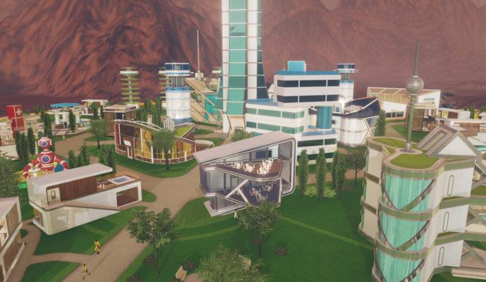 Surviving Mars ville