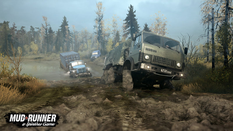 Test Spintires: MudRunner - Artwork