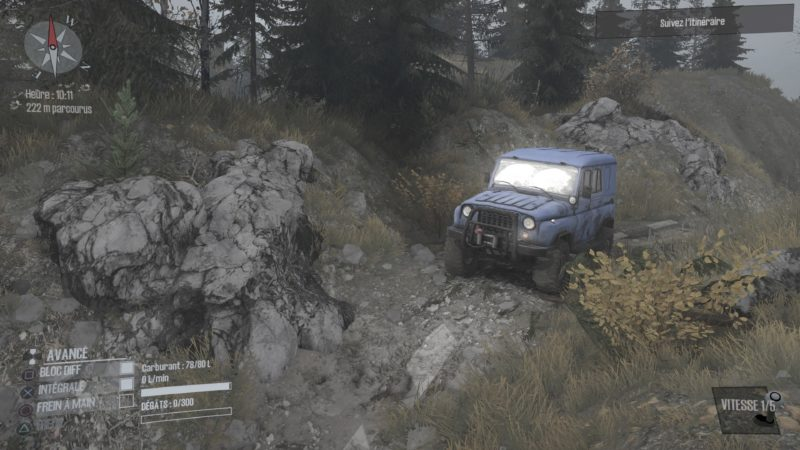 Test Spintires: MudRunner - Jeep