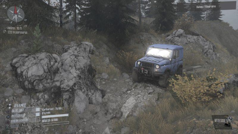 Test Spintires: MudRunner - Jeep
