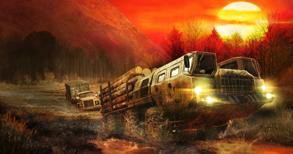 Test Spintires: MudRunner