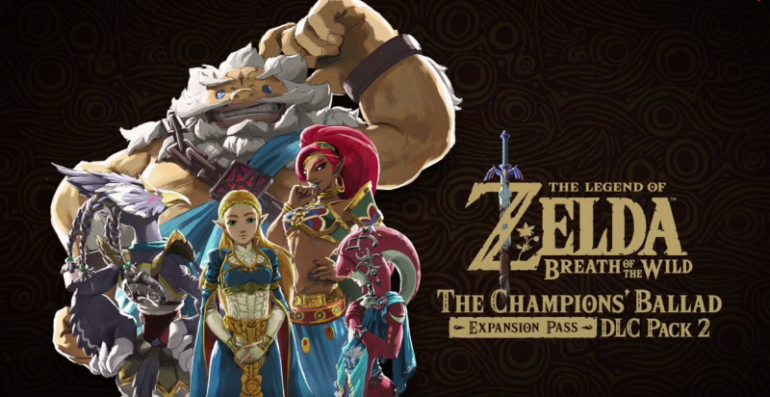 Zelda Breath of the Wild The Champions'Ballad