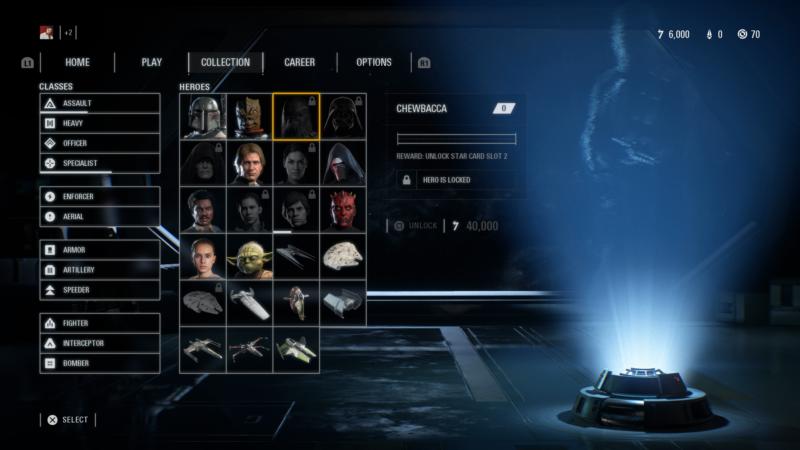 Star Wars: Battlefront II collection