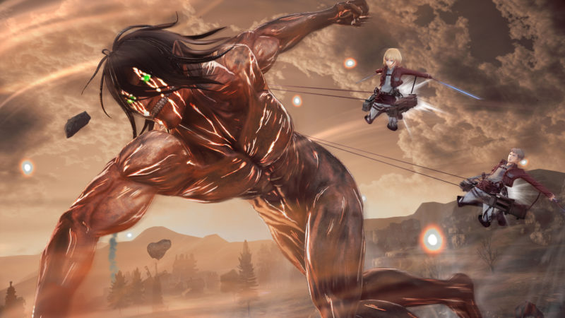 Attack on Titan 2 Eren titan