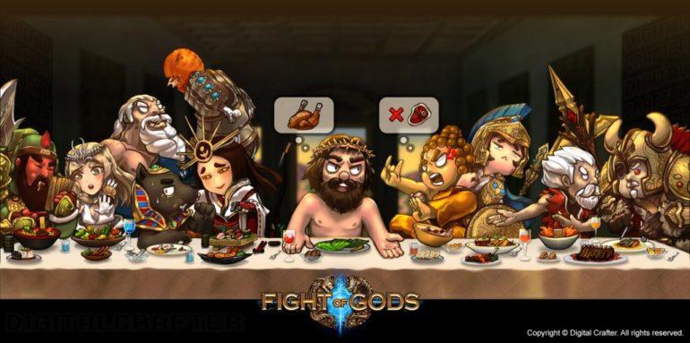 Fight of Gods divise les pains