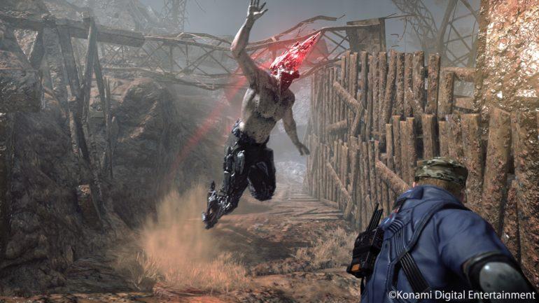 Metal Gear Survive créature